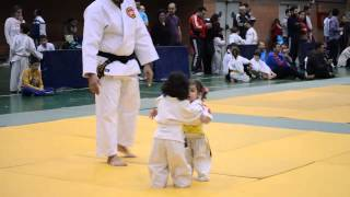 Little girls judo fight Little Kids Judo Funny
