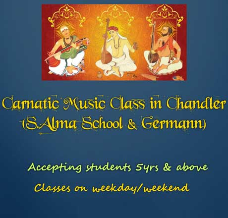 Carnatic Music Classes In Chandler