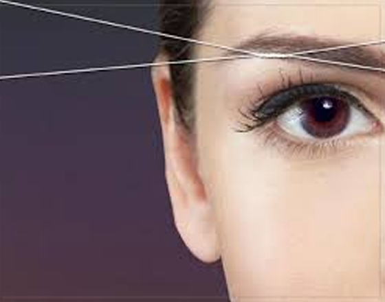 Painless Eyebrow Threading at reasonable price