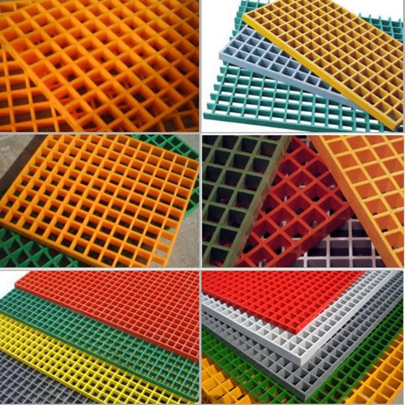 FRP molded grating fiberglass floor grating