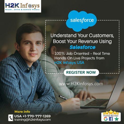 Salesforce Course at H2K Infosys USA