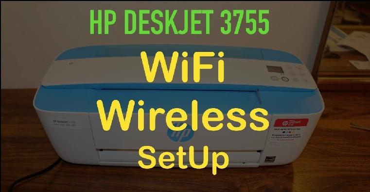 HP Deskjet 3755 wifi Setup