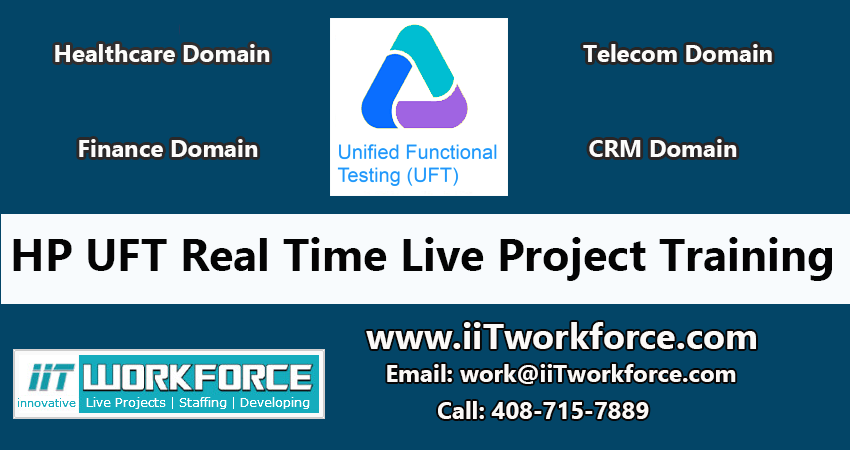 HP UFT real-time Project Workshop experience
