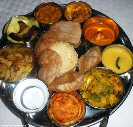 Home made Bengali food