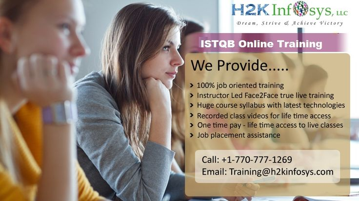 ISTQB Online Training Classes and Job Assistance