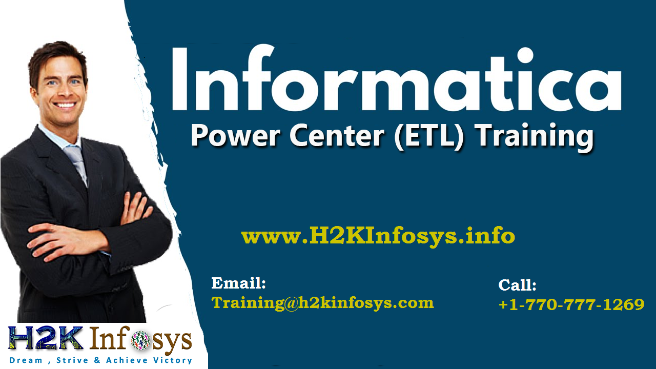 Informatica Online Training on Live Projects