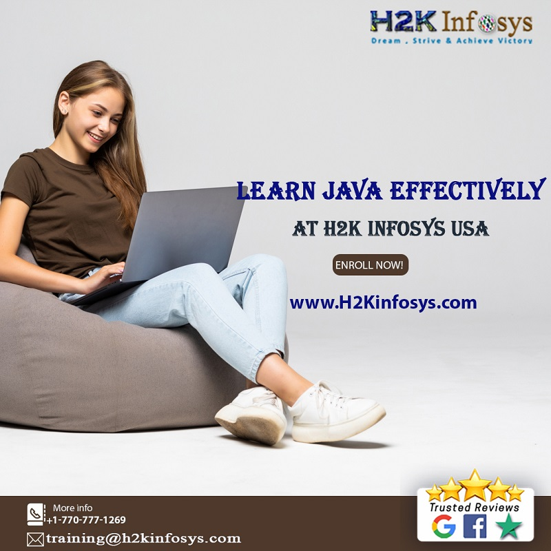 Java Certification Training at H2K Infosys USA