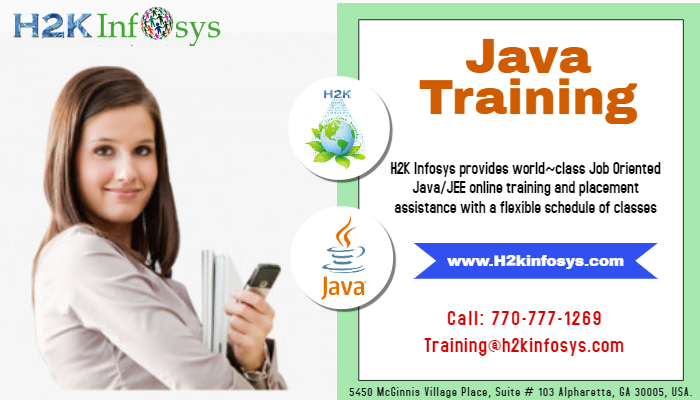 Java Online Training with Live Projects