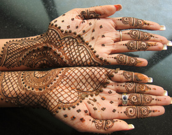 Mehendi/Henna for Karwachoth, engagement,...