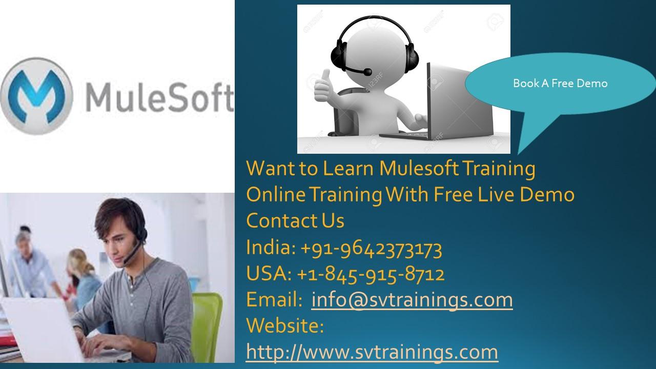 Mulesoft Online Training Demo Session