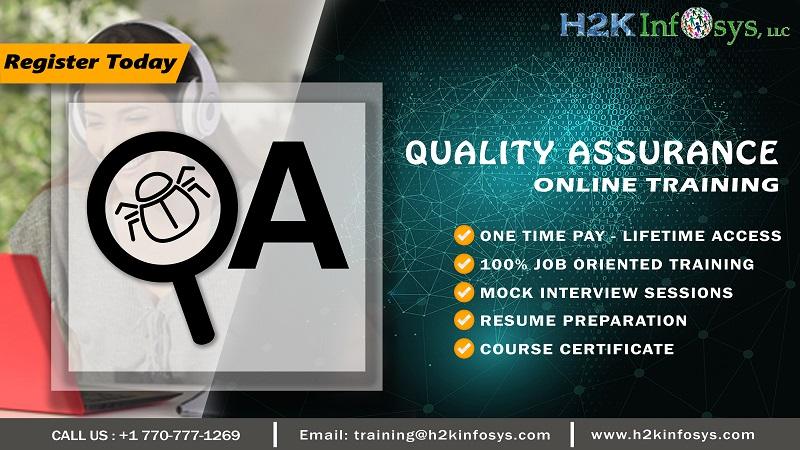 QA Online Training for Beginners