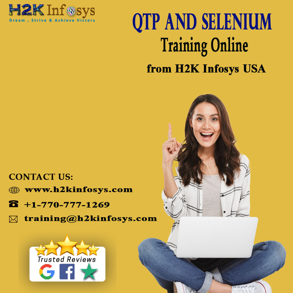 QTP and Selenium Training Online from H2K Infosys
