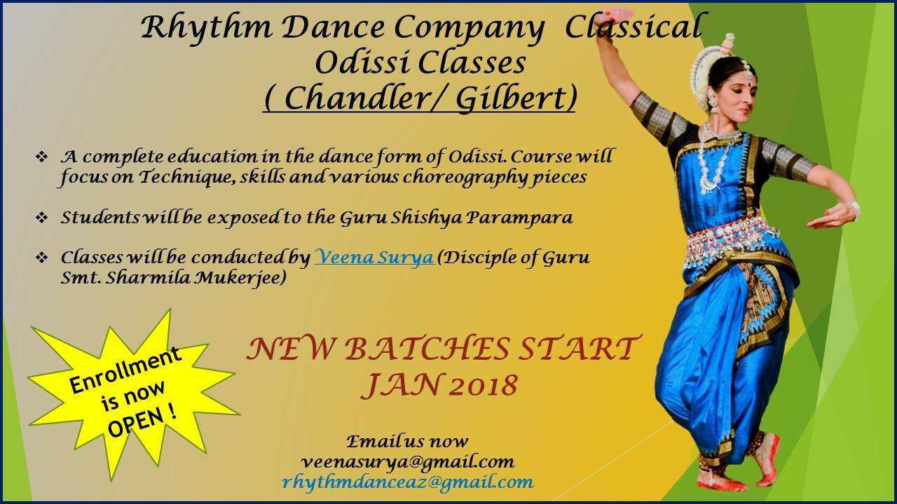 Odissi Dance Classes