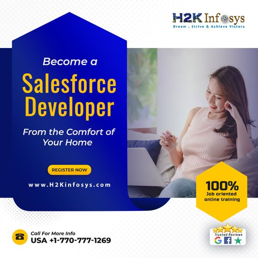 Salesforce Certification Course from H2k Infosys