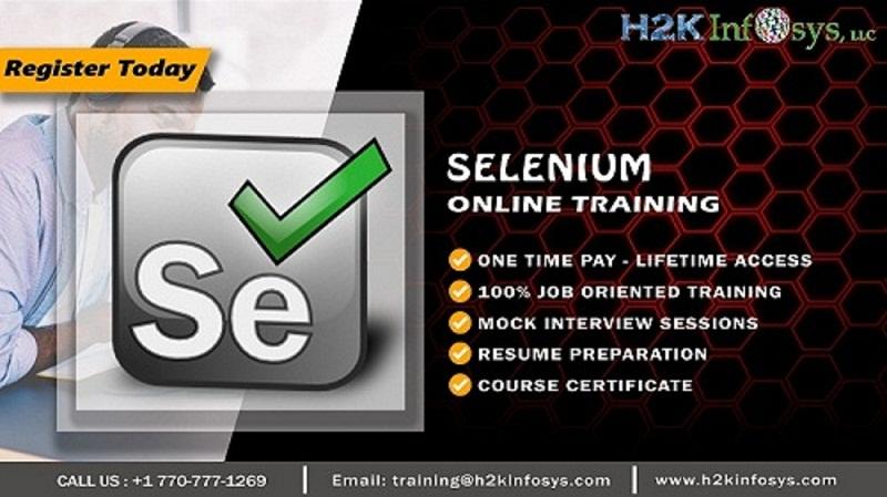 Selenium Automation Online Courses