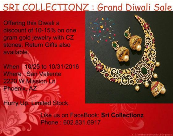 Sri Collectionz Grand Diwali Sale