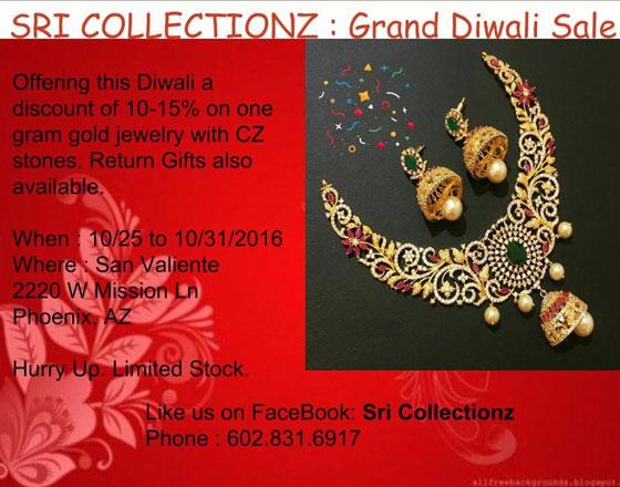 Sri Collectionz Grand Diwali Sale