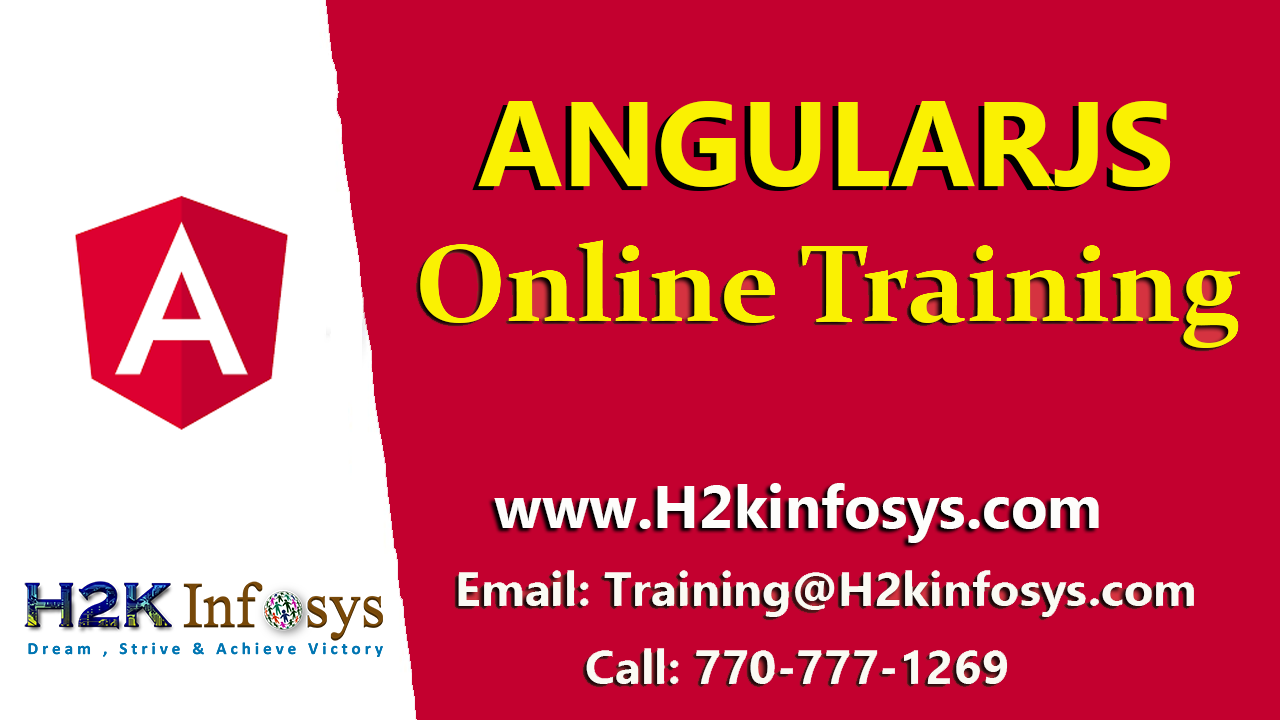 AngularJS Online Training-Attend free DEMO classe