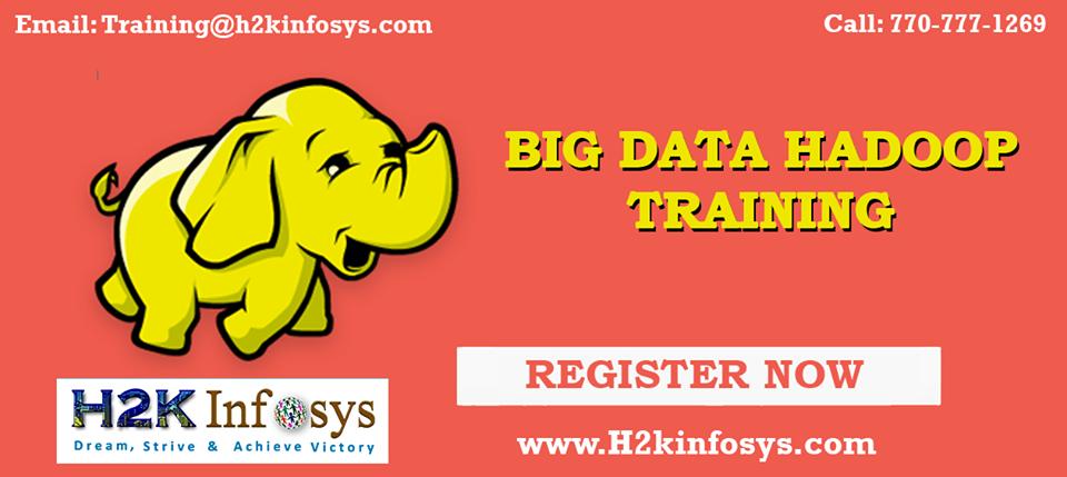Big Data Online Training-Attend free DEMO classes