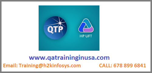 QTP Online Training And Placement Assistance