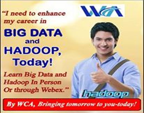 Live BigData training batch for IT Tech