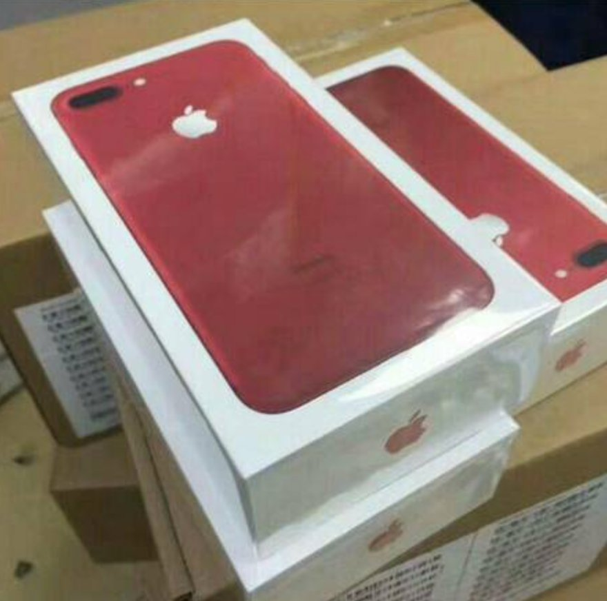 Smartphone iPhone 7 Plus 128GB Product Red