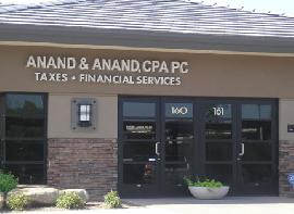 Anand   Anand  CPA PC