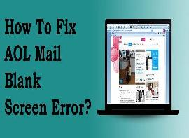 How To Fix AOL Mail Blank..