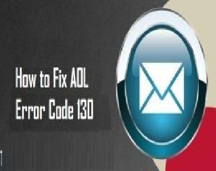 How to Fix AOL error code 130