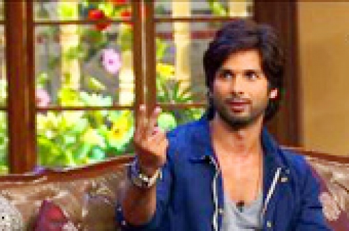 comedy nights with kapil shahid kapoor iliana d cruz