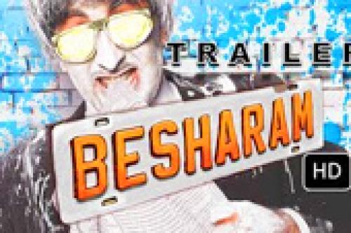besharam official trailer
