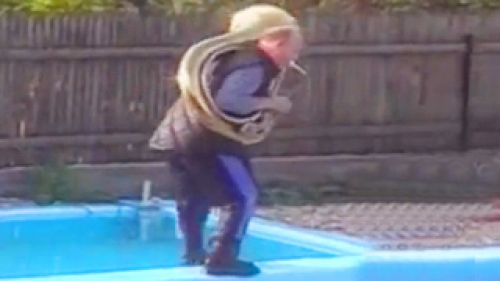funny swimming pool accidents