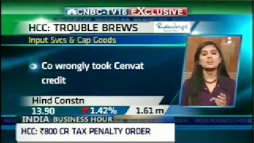 hcc under service tax net rs 800cr penalty order passed