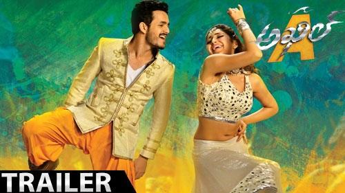 akhil release trailer