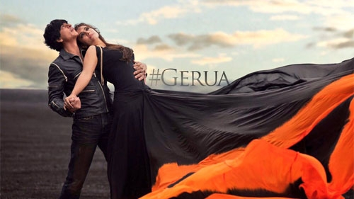 gerua official song video dilwale
