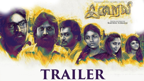 iraivi official trailer