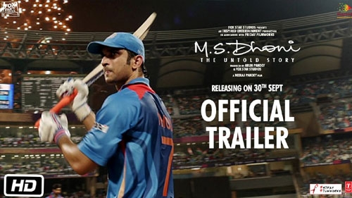 m s dhoni the untold story official trailer