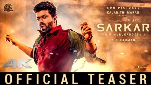 sarkar official teaser