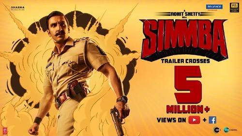 simmba official trailer