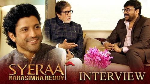 sye raa interview chiranjeevi amitabh bachchan