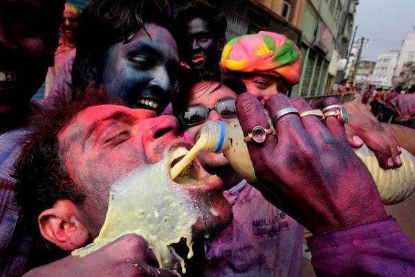 Bhang on Holi