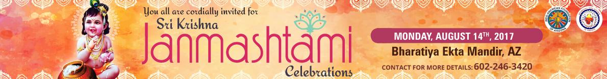 Sri krishna janmashtami celebrations in