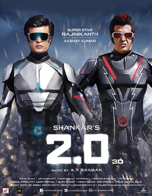2.0 3D Hindi Movie - Show Timings