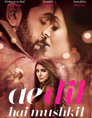 Ae Dil Hai Mushkil Hindi Movie - Show Timings