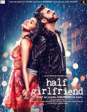 Half Girlfriend Hindi Movie - Show Timings