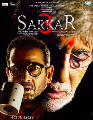 Sarkar 3 Hindi Movie - Show Timings
