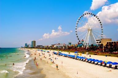 Overview of Myrtle Beach, South Carolina