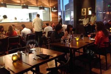 Tuesday night dinner at Blue Hound Kitchen & Cocktails