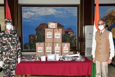 India Gifts 10 Ventilators to Nepal Army amid COVID-19 Crisis