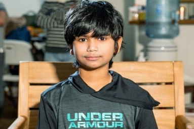 11-Yr-Old Indian Origin Boy Saves a Man from Drowning in Pool